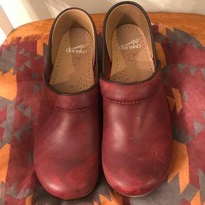 Dansko professional leather clogs